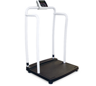 Rice Lake Medical Scale Handrail Bariatric Scale 250-10-2