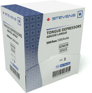 Stevens Tongue Depressor SENIOR WOODEN BOX/500 (SC-TDA-500)