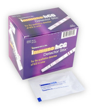 Pregnancy Test Urine Detector Sticj Style BX/50 3min test (IHS-50) (726-IHS-50)