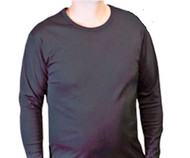 Thermoflow SH-07 Long Sleeves Shirt Black / White (SH-07)