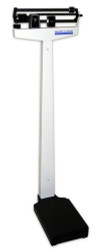 Healthometer 450KL SCALE FLOOR BALANCE BEAM CLASSIC w/ HT ROD 500lb/227kg White notes