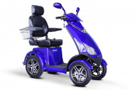 eWheels Dealers EW72 FOUR WHEEL SCOOTER (EW-72 Blue) Shipping included