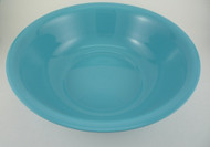 "Medegen Medical 00041 Wash Basins, Round, Sterilizable, 13"" x 3.8"" Size, 4.7 L Capacity, Blue"