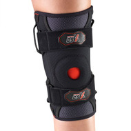 CSX X525 SPORTS BRACING knee support, side stabilizers, black S-M-L-XL-XXL (X525)