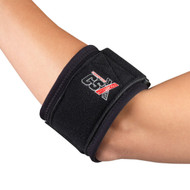 CSX X721 SPORTS BRACING tennis elbow strap, black SM-REG (X721)