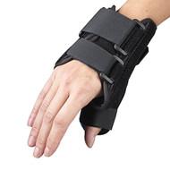 """OTC 2086 6"""" Wrist/Thumb Splint - Black (LT or RT) S-M-L-XL"""