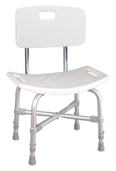 Drive 12021KD-1 Bariatric Heavy Duty Bath Bench with Backrest
