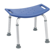 Drive 12203KDRB-1 Bathroom Safety Shower Tub Bench Chair, Blue (Discontinued)