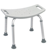 Drive Medical RTL12203KDR Bathroom Safety Shower Tub Bench Chair, Gray