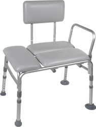 Drive Medical 12005KDR-1 Padded Transfer Bench