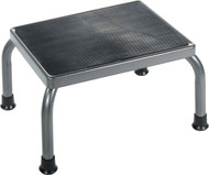 Foot stool with Non Skid Rubber Platform (13030-1SV) (13030-1SV)