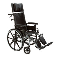 "Drive PLA420RBDFA Viper Plus GT Full Reclining Wheelchair, Detachable Full Arms, 20"" Seat"