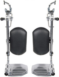 Drive STDELR-TF Elevating Legrests for Bariatric Sentra Wheelchairs, 1 Pair (STDELR-TF)