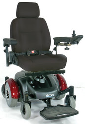 "Image EC Mid Wheel Drive Power Wheelchair, 18"" Seat (2800ECBU-RCL)"