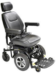 "Drive 2850-18 Trident Standard Power Wheelchair Front-Wheel Drive, 18"" Seat"