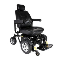 "Drive 2850HD-24 Trident Heavy Duty Power Wheelchair, 24"" Seat"