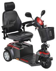 "Drive VENTURA318CS Ventura Power Mobility Scooter, 3 Wheel, 18"" Captains Seat"