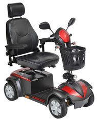 "Drive VENTURA418CS Ventura Power Mobility Scooter, 4 Wheel, 18"" Captains Seat"