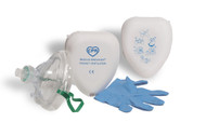 Mask CPR w/filter in hard case (462-01-PV1500W-CS)