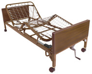 Drive 15004BV-PKG-1 Semi Electric Bed with Half Rails and Innerspring Mattress (15004BV-PKG-1)