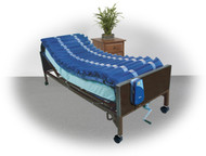 """Drive 14025N Med-Aire Low Air Loss Mattress Overlay System, with APP, 5"""" (14025N)"""