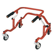 Drive Pediatric TYKE 1200 Posterior Safety Rollers,Red (PE TYKE 1200)