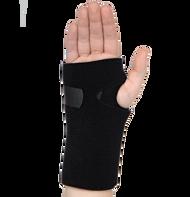 R94UR Universal Wrist Support Black (Right Side)