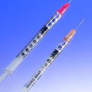"Sol-Millennium Medical InviroSnap 100017IM Syringe & Needle INSULIN 1cc 29 G x 0.5"" 100u SAFETY (348-100017IM)"