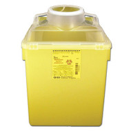BD 300483 Collector SHARPS NESTABLE 22.7 ltr YLW Large FUNNEL TOP (CS/12) (300483)