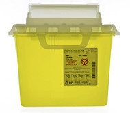 BD 303050 Collector SHARPS NESTABLE 7.6 L YELLOW HORIZ DROP (CS/10) (303050)