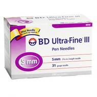 BD 320145 Needle MINI PEN 31G 5MM ULTRA- FINE III BX/100