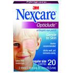"3M-1539 Eye Pad Non-Sterile 2-1/4"" X 3-1/4"" ADHESIVE NEXCARE BX/20"