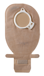 "ASSURA OPAQUE Drainable Pouch, FLANGE SIZE 2 3/8"" (60mm) BX/10 (COL-14498)"