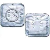 "2-Piece CenterPointLock Stoma Cap, Flange 1-1/2"", Opaque BX/25 (HOL-3407)"
