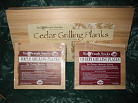 Gift Pack of Grilling Planks