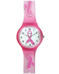 Pink Ribbon Scrub Watch - Model 1773