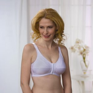 Almost U Lace Accented Front Closure  Bra Style 1100