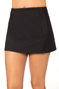 PENBROOKE SWIMSUITS - SIDE SLIT SKIRTED BRIEF WITH TUMMY CONTROL