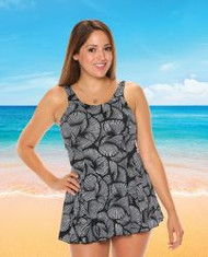 T.H.E. 996-60-740 Mastectomy Swim Dress (FINAL SALE!!!!)