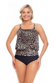 Penbrooke 5501341M Cat Walk Mastectomy Tankini Top (FINAL SALE!!!!)