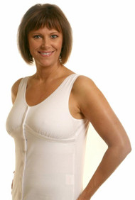 New Dawn Post-Surgical Camisole by Wear Ease® -Velcro Front Closure for Limited Mobility
