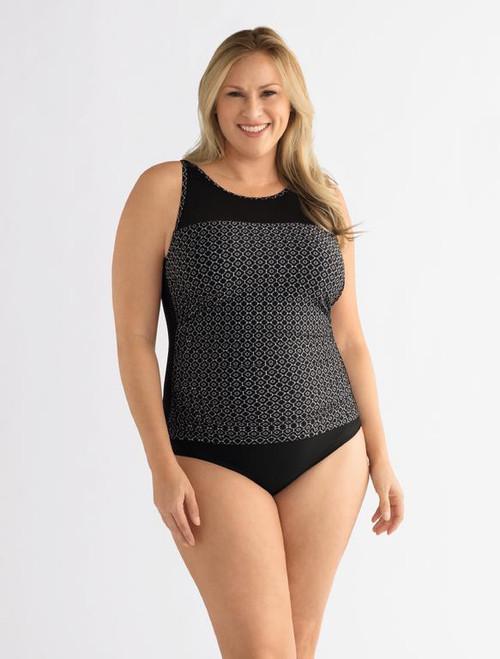 Amoena 71112 Ayon Half Bodice MastectomySwimsuit