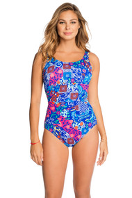 Penbrooke 5511139M Bali Empire Maillot Mastectomy Swim Suit