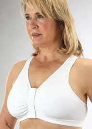 Classique 800 Cotton VELCRO Front Closure Mastectomy Bra