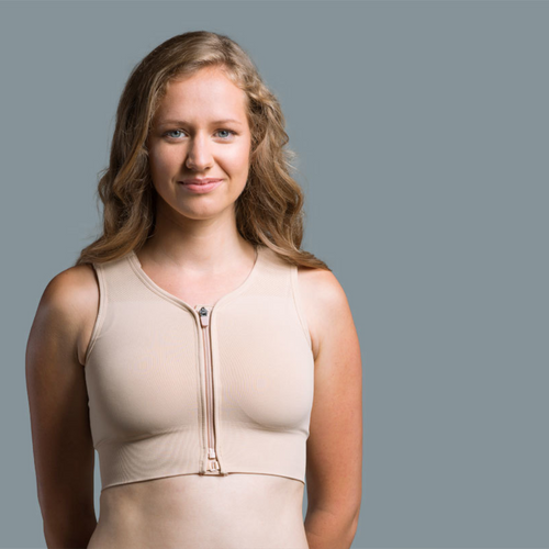 Prairie Wear The Hugger Post surgical compression & active recovery bra and binder