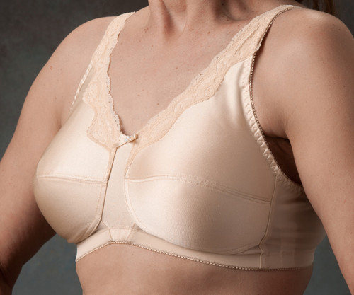 Nearly Me 680 Lace Accent Mastectomy Bra