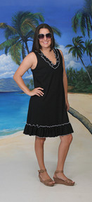 Gloria's Fashions Style 136 Knit Jersey Dress with Ruffles