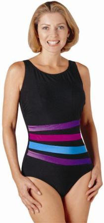 JODEE 1453 Melody Mastectomy Tank Swim Suit