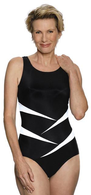 JODEE 1469 Fun in the Sun Mastectomy Tank Swim Suit