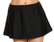 T.H.E. 1004-409 Black Swim Skirt